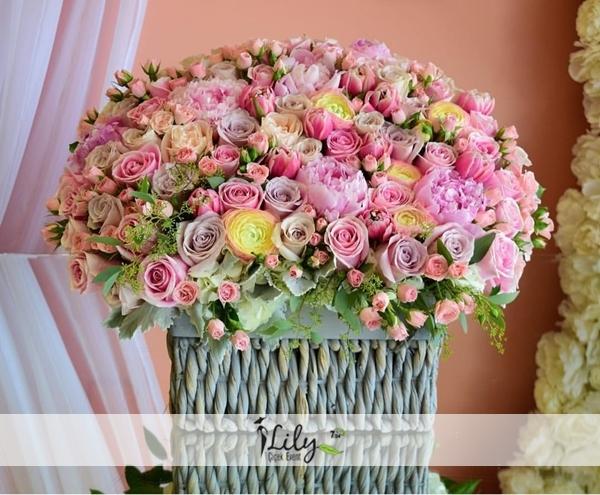 Çiçek sepeti - TASARIM