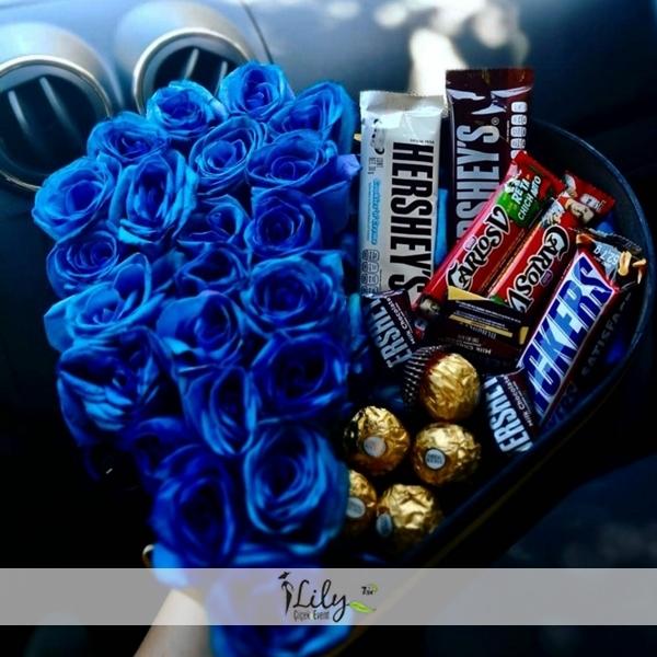 Kalbimdeki mavi ve çikolatalar
