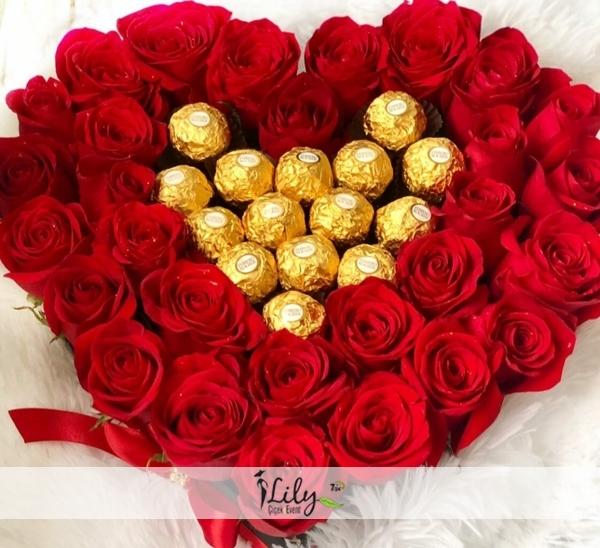Kalbimdeki güller ve çikolatalar VIP