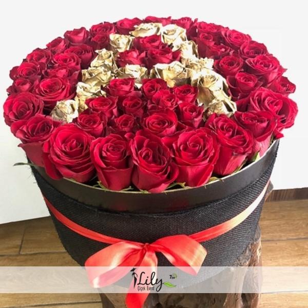 Adını güllerle yazın VIP