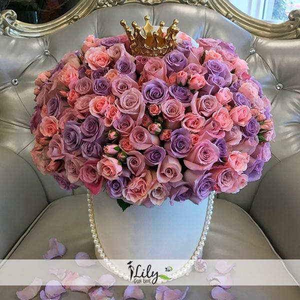 vip mor güller