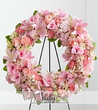 pembe çiçeklerden vip ferforje